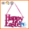 Happy Easter Glitter Sign Decoration glitter wall decor