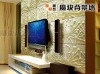 Sailing 3d embossed wall panel decorative material for interior use