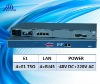 SNMP based Ethernet to 4E1 Converter with 4 Copper Ethernet Ports(75ohm AC/DC)
