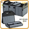 Combination folding trunk organizer and cooler