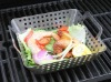 Stainless steel bbq grill sqare wok