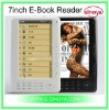 Russia ebook Reader for 7''inch +RK2738 TFT Screen with MP3 Movie earphone Hot Sales