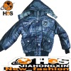 Boy Stylish Jacket With Hoody HSC110346