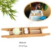 bamboo bathtub rack, bathroom accessories