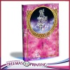 A4size Model book Colorful foil hot stamping