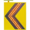 solar arrow sign board