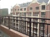 safe galvanized powder coated steel balcony balustrade