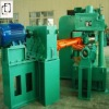 Vertical wheel straightening machine