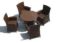 Durable Outdoor Rattan Furniture Table 2011 New
