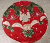 christmas tree mat (SQ-040), xmas decoration, home decoration