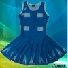 Customized netball dress with subimation printing/bodysuits