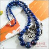 Yuxin YSS178 Natural lapis lazuli Necklace Real Semi-precious Gemstone Jewelry Wholesale accept paypal