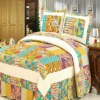 cotton duvet cover/quilted bedsheet/quilted bedspread