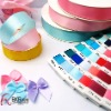 Decorative satin ribbon for baby crafts