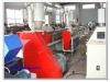 Plastic foaming profile production line