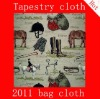 Jacquard tapestry bag and table cloth