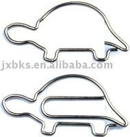 Turtle shape paper clip