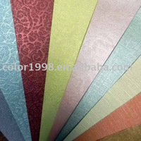 decorative paper/fancy color paper board/packaging paper