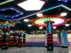 Happy amusement city, colourful painting with strong fibreglass equipments,LED lighting