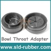 Rubber Bowl Throat Adapter
