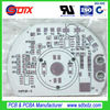LED Aluminium PCB 1.6mm Single-sided Aluminum clad pcb