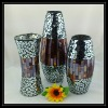 Beautiful Cheap Silver & Brown Handmade Glass Mosaic Gift sets for Home Decoration or Wedding