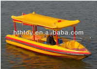 Top best fiberglass water equipment electric water boat