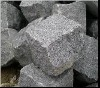 Dark Grey Granite G654 Cube Stone