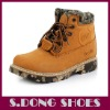 Classic Mens High Top Leather Safety Rubber Boots