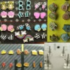 [wholesale earring]Earring set teenage style cartoon earring(2)