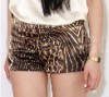 2012 Fashion Women Shorts in Animal Print Fabric