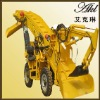 Coal mine equipment wheel loader AKL-X-50 with high efficiency