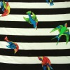 Rayon spandex bird print jersey knitting fabric