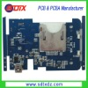 PCBA circuit board with Blue Solder Mask