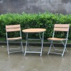 2 seater set polywood small outdoor furniture