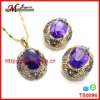 TB0896 JINGMEI 2013 HOT SALE COSTUM CZ JEWELRY SETS