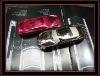 2012 Unlocked car phone Dual Standby GSM900/1800 (Silver, red , Gun, Coffee)