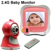 2.4G baby monitor security system