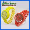 New designer silicone ladies bracelet hand chain watch