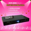 HD karaoke player ,Support VOB/DAT/AVI/MPG/CDG/MP3+G songs ,USB add songs ,KOD system