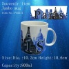 Souvenir items porcelain jumbo mug