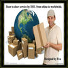 door to door service by DHL from china to worldwide
