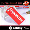 Supreme For IPhone 5 Mobile Phone Case,For apple Iphone 5 Case