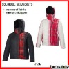 LADY FASHION WATERPROOF SNOW JACKET CLOTHING WITH HOOD
