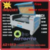 2012 Newest AZ1512 CO2 laser engraving machine with reci laser tube