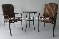 Outdoor Mesh Metal Garden Patio Furniture