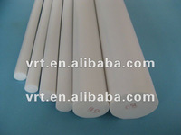 white recycled plastic ptfe rod