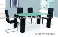 HIGH QUALITY HOTSALES NEW STYLE QUALIFIED Morden MDF dining table(MIXED ORDER ACCEPTED)