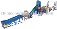 PET bottle crushing line