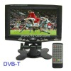 7 inch Digital lcd TV with DVB-T, Support USB flash disk